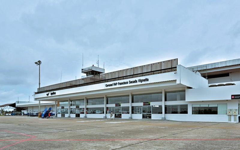 Aeropuerto Internacional Coronel FAP Francisco Secada Vignetta en Iquitos