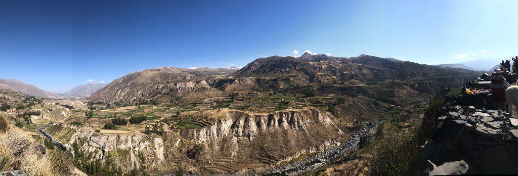 El Valle del Colca el cañón más profundo del mundo en Arequipa