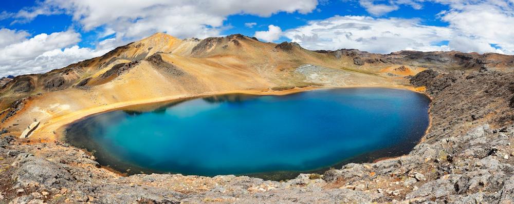 Laguna Azulcocha de Ayacucho Foto panorámica