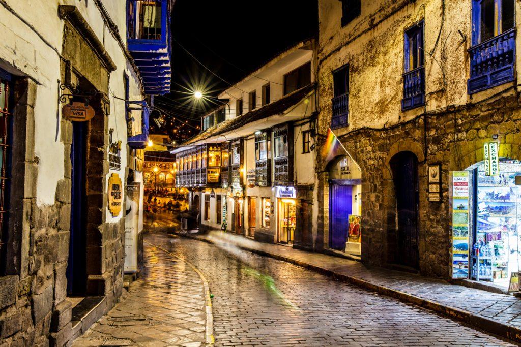 Que clima hace de noche en Cusco