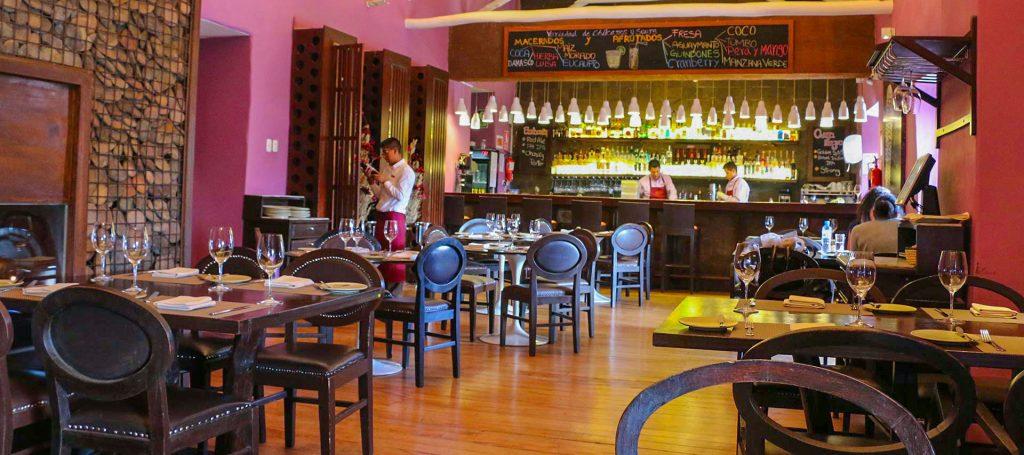 Restaurante de Gastón Acurio ChiCha en Cusco