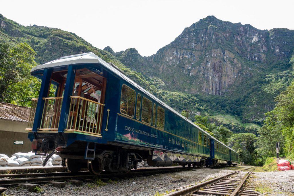 Tren de Cusco a Machu Picchu