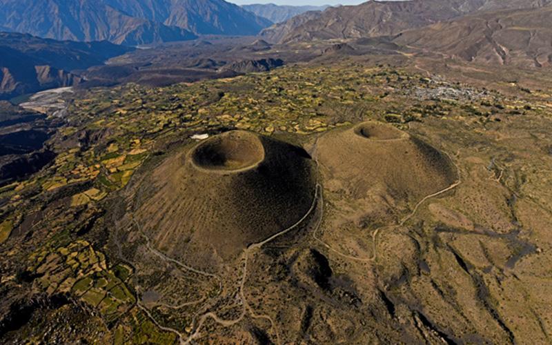 Valle de los Volcanes en Arequipa Perú