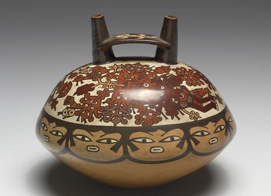 pieza de la ceramica nazca